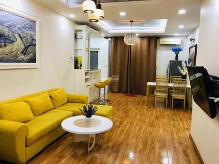 8X Đầm Sen có căn hộ rộng 65m2, 2 PN, đủ đồ dùng, cho thuê giá 6.5 triệu/tháng, 65m2, 2 phòng ngủ, 2 toilet