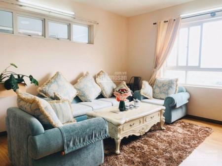 Cho thuê căn hộ khu Contrexim Quận 4 rộng 90m2, 2 PN, có nội thất, giá 11 triệu/tháng, 90m2, 3 phòng ngủ, 2 toilet