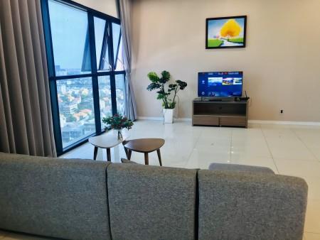 Căn hộ 3pn 124m2 đầy đủ nội thất cho thuê nhanh 29tr/tháng. LH:070.3966.021, 124m2, 3 phòng ngủ, 2 toilet