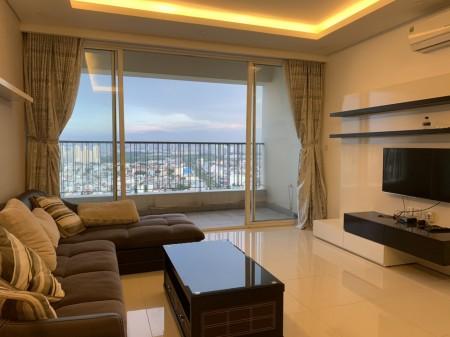 Cho thuê căn hộ chung cư Masteri Thảo Điền, ngay Vincom Quận 2 LH:070.3966.021, 100m2, 3 phòng ngủ, 2 toilet