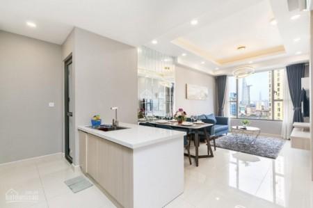 Royal Quận 4 có căn hộ rông 85.5m2, 2 PN, cần cho thuê có sẵn đồ, giá 23 triệu/tháng, 855m2, 2 phòng ngủ, 2 toilet