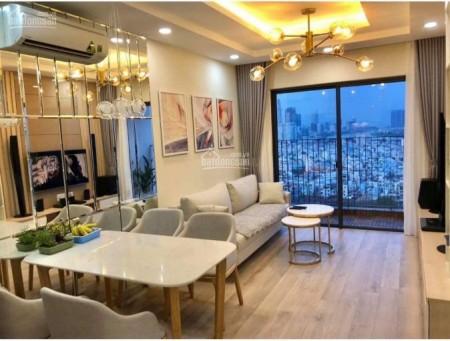 Căn hộ rộng 63m2, cc Masteri Quận 7, 2 PN, giá 12 triệu/tháng, tầng cao, mát mẻ, 63m2, 2 phòng ngủ, 2 toilet