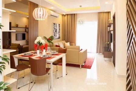 Cho thuê căn 3PN full nội thất, tầng cao, hướng view Đông Nam, view Landmark 81. LH 0906699824, 87m2, 3 phòng ngủ, 2 toilet