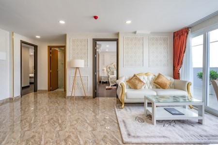 Thuê CHDV Penthouse Emerald Huỳnh Tịnh Của 2PN/2WC tiện nghi cực đẹp 23 triệu/tháng Tel 0942.811.343 Tony Xem Ngay, 105m2, 2 phòng ngủ, 2 toilet