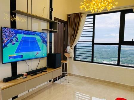 Cho thuê gấp căn hộ The Ascent 2PN giá 19tr/tháng 70m2, tầng 23, view sông, LH:070.3966.021, 70m2, 2 phòng ngủ, 2 toilet