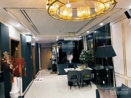 Căn hộ 107m2, 3 PN, kiến trúc đẹp cc Hado Centrosa cần cho thuê giá 15 tiểu/tháng, 107m2, 3 phòng ngủ, 2 toilet