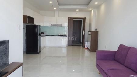 Căn 3PN cho thuê full nội thất, tầng cao, hướng Đông Nam, view Landmark 81. LH 0906699824, 87m2, 3 phòng ngủ, 2 toilet