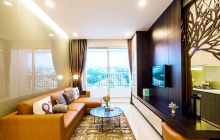Cho thuê căn hộ 2 - 3PN full nội thất, DT 70m2 tại CC Golden Mansion 119 Phổ Quang. LH 0906699824, 87m2, 3 phòng ngủ, 2 toilet