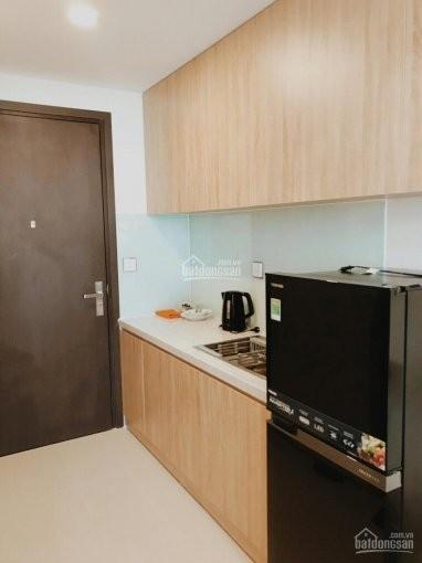Officetel cc River Gate rộng 27m2, 1 PN, cho thuê giá 10 triệu/tháng, có sẵn đồ, 27m2, 1 phòng ngủ, 1 toilet