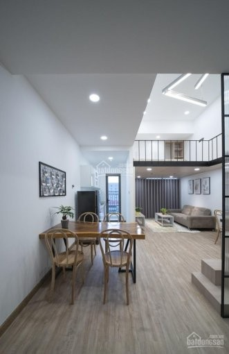 Cho thuê căn hộ kiến trúc đẹp cc River Gate, dtsd 26m2, còn mới, giá 9.5 triệu/tháng, 26m2, 1 phòng ngủ, 1 toilet