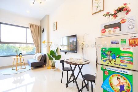 Cho thuê căn hộ Studio Botanica Premier tiện nghi đẹp 12 Triệu bao phí quản lý Tel 0942.811.343 Tony (Zalo/Viber/Phone), 36m2, 1 phòng ngủ, 1 toilet