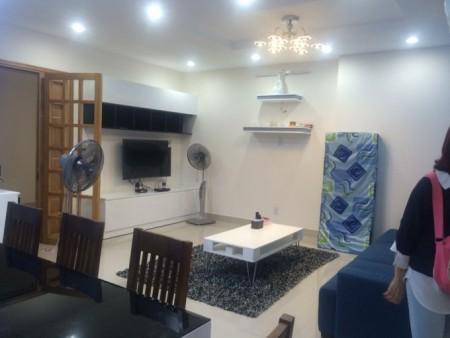 Căn hộ 82m2, 2 PN, có sẵn đồ dùng nội thất, giá 12 triệu/tháng, cc Him Lam Riverside, 82m2, 2 phòng ngủ, 2 toilet