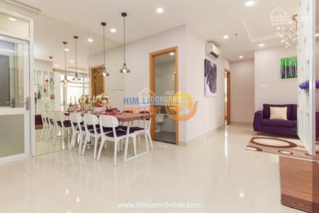 Him Lam Chợ Lớn có căn hộ rộng 83m2, 2 PN, cần cho thuê giá 12.5 triệu/tháng, LHCC, 83m2, 2 phòng ngủ, 2 toilet