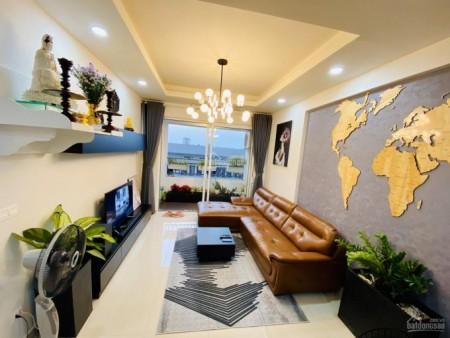 Lucky Quận 6 có căn hộ cần cho thuê giá 12 triệu/tháng, dtsd 90m2, 2 PN, view Quận 1, 90m2, 2 phòng ngủ, 2 toilet