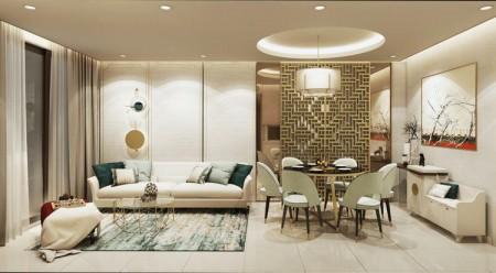 D-Homme Quận 6 cho thuê căn hộ rộng 69.59m2, 2 PN, chưa nội thất, giá 17 triệu/tháng, 6.959m2, 2 phòng ngủ, 2 toilet