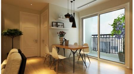 Cho thuê căn hộ 08 tòa B 219 Trung Kính: 75.3m2, 2PN, đủ đồ, 10.5tr – 0902272077, 75m2, 2 phòng ngủ, 2 toilet