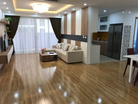 Cho thuê căn hộ B3 - Hà Đô Park View – CV Cầu Giấy: 131m2, 2PN, đủ đồ, 13tr – 0902272077, 131m2, 3 phòng ngủ, 2 toilet