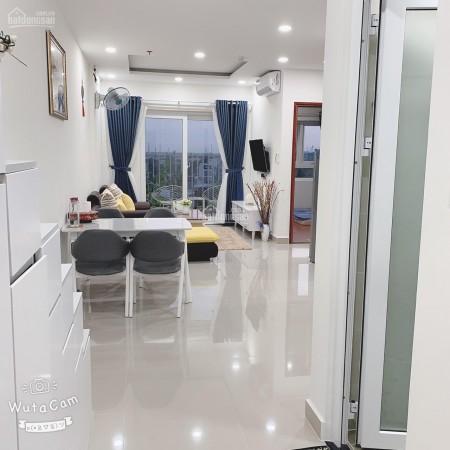 Orchird Nhà Bè có căn hộ rộng 72m2, 2 PN, đủ nội thất, cho thuê giá 5.5 triệu/tháng, 72m2, 2 phòng ngủ, 2 toilet