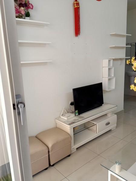 Cho thuê căn hộ 1 phòng ngủ chung cư Vision Bình Tân, 45m2, 1 phòng ngủ, 1 toilet