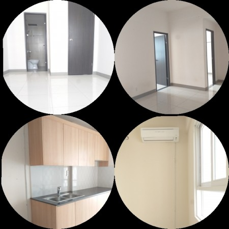 Sky 9 : Căn hộ 2pn 2wc có máy lạnh, 66m2, 2 phòng ngủ, 2 toilet