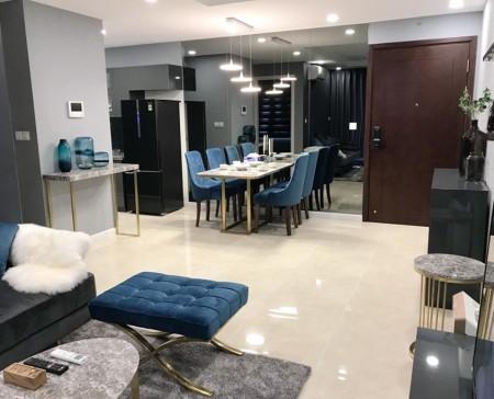Cho thuê căn hộ C7.03 – D' Capitale Vinhomes Trần Duy Hưng: 111m2, 3PN, đủ đồ, 14tr – MTG, 111m2, 3 phòng ngủ, 2 toilet
