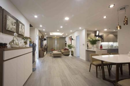 Cho thuê căn hộ 1503 - 17T KĐT Trung Hoà Nhân Chính: 155m2, 3PN, 3VS, đủ đồ, 13tr (MTG) 0902272077, 155m2, 3 phòng ngủ, 3 toilet