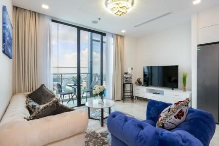 Cho thuê căn hộ Vinhomes Central Park 1PN, 55m2, nội thất hiện đại, giá thuê tốt LH: 0971648955, 55m2, 1 phòng ngủ, 1 toilet