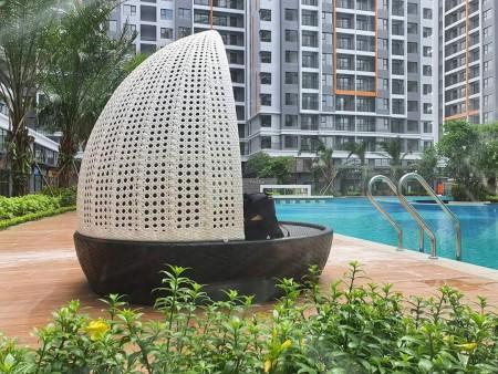 cho thuê căn 3pn +2wc safira khang điền quận 9 view thoáng mát liên hệ : 0906895794, 89m2, 2 phòng ngủ, 2 toilet