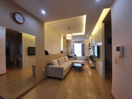 Chung cư Sky Garden 3 diện tích 56m2 có 1 PN, Đã chuẩn bị tất cả nội thất và vật dụng. Giá thuê 10 triệu/tháng, 56m2, 1 phòng ngủ, 1 toilet