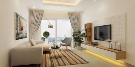 Cho thuê căn hộ cao cấp trong dự án The Gold View Quận 4 2PN 13 triệu/tháng, 75m2, 2 phòng ngủ, 1 toilet