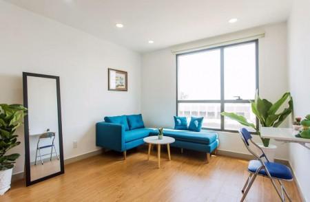 Cho thuê căn hộ mini đầy đủ tiện nghi Garden Gate Novaland 9.5 Triệu Tel 0942.811.343 Tony (Zalo/viber/phone) đi xem, 37m2, 1 phòng ngủ, 1 toilet