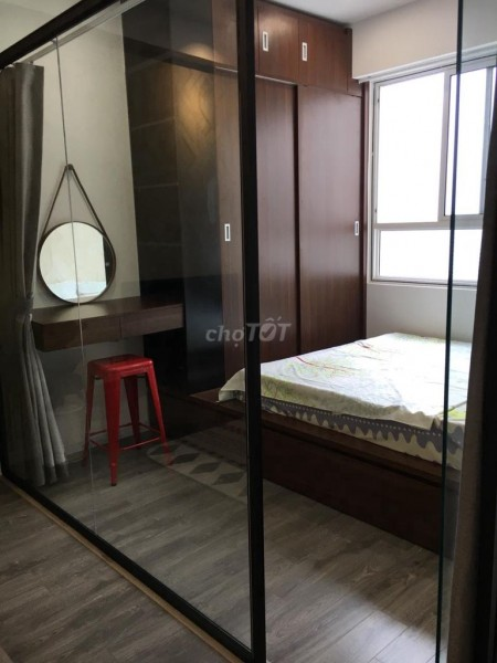 Cho thuê căn hộ cao cấp thoáng mát tiện nghi tại cung chung cư Lotus Garden Quận Tân Phú, 70m2, 2 phòng ngủ, 2 toilet