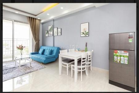 Cho thuê căn hộ cao cấp 2PN 2WC tại dự án Cộng Hòa Garden. Căn hộ mới tinh, đủ nội thất, 78m2, 2 phòng ngủ, 2 toilet