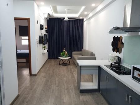 Cho thuê căn hộ 2PN/1WC Golden Mansion 57m2 tiện nghi y hình 14 Triệu bao PQL Tel 0942.811.343 Tony, 57m2, 2 phòng ngủ, 1 toilet