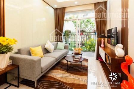 Căn hộ cao cấp giá rẻ tại dự án chung cư Him Lam Phú An cho thuê chỉ 6 triệu/tháng có 2 Phòng, 70m2, 2 phòng ngủ, 2 toilet