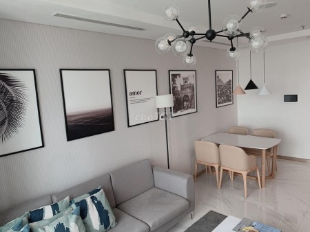 Cho thuê căn hộ tại Vinhomes Landmark 81 cao cấp hiện đại, nội thất có sẵn sang trọng tiện nghi, 85m2, 2 phòng ngủ, 2 toilet