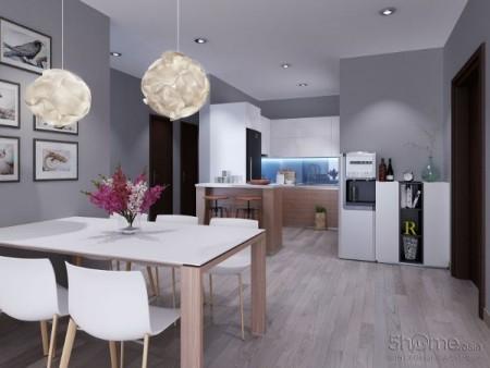 Cho thuê căn hộ chung cư Celadon City 99m2 3PN 2WC cho thuê giá chỉ 12 triệu/tháng, 99m2, 3 phòng ngủ, 2 toilet
