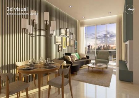 Có căn hộ tại chung cư Masteri Millennium Quận 4 không ở nên cần cho thuê lại 14,5 triệu/tháng, 70m2, 2 phòng ngủ, 2 toilet