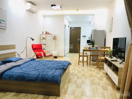 Căn hộ chung cư cao cấp tiện nghi 1 phòng cho thuê giá 10 triệu thuộc dự án chung cư cao cấp Masteri Millennium, 30m2, 1 phòng ngủ, 1 toilet