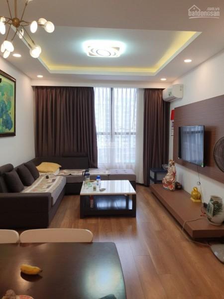 Galaxy 9 Nguyễn Khoái có căn hộ rộng 95m2, giá 17 triệu/tháng, LHCC, 95m2, 2 phòng ngủ, 2 toilet