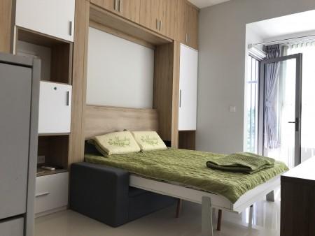 Cho thuê căn hộ mini Botanica Premier 1pn, nội thất đầy đủ 10tr/tháng, 36m2, 1 phòng ngủ, 1 toilet