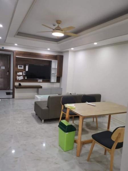 Cho thuê căn hộ Homyland 3, đầy đủ nội thất mới 81m2, 2 phòng, Giá 11tr/th. O9I886O3O4, 81m2, 2 phòng ngủ, 2 toilet