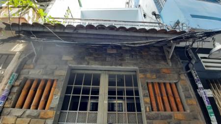 Cho thuê nhà phố 48m2 hẻm 3m Lê Thị Riêng, Quận 1 cách mặt tiền Lê Thị Riêng 100m, giá cực tốt, 48m2, 2 phòng ngủ, 1 toilet