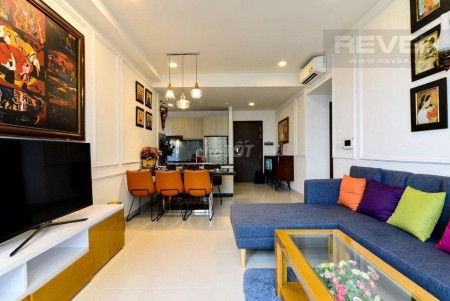 Cho thuê căn hộ chung cư The Tresor Quận 4. Căn 2 Phòng ngủ. Giá thuê 15 triệu/tháng, 65m2, 2 phòng ngủ, 1 toilet