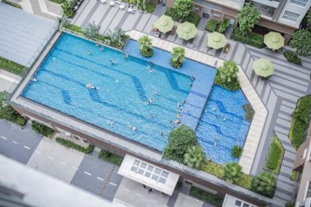 CH Garden Gate, 1PN, 1WC, View Hoàng Minh Giám. Nội thất cao cấp, 38m2, 1 phòng ngủ, 1 toilet