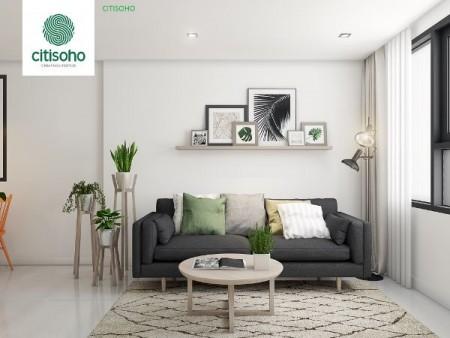 Cho thuê căn hộ Citi Soho giá 6 triệu, diện tích 60m2, 2 phòng ngủ, 2 phòng vệ sinh, có nội thất, căn góc thoáng mát., 60m2, 2 phòng ngủ, 2 toilet