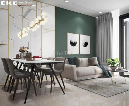 Cho thuê căn hộ cao cấp 1 Phòng ngủ, 1 phòng vệ sinh đầy đủ nội thất tại chung cư Estella Heights, 59m2, 1 phòng ngủ, 1 toilet