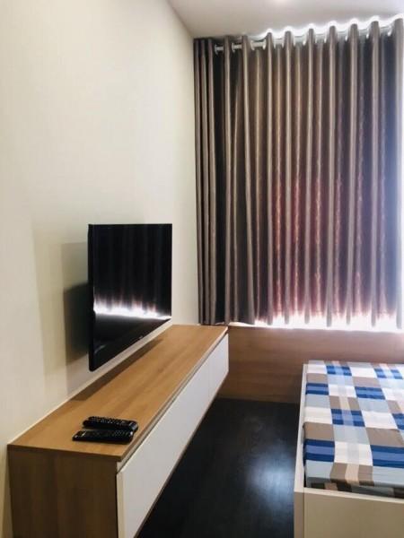 Sky/Center, căn 2PN 2WC, Full đầy đủ giá 15tr/th, 70m2, 2 phòng ngủ, 2 toilet