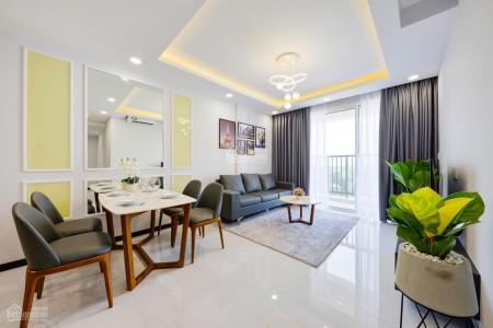Trống căn hộ Lucky Quận 6 tầng cao 115m2, 3 PN, căn hộ mới, có sẵn đồ dùng, giá 14 triệu/tháng, 115m2, 3 phòng ngủ, 2 toilet