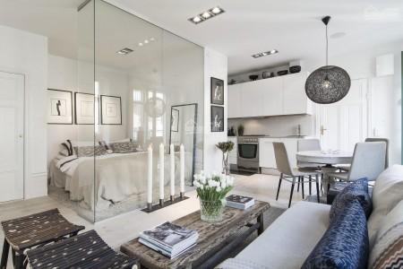 Cho thuê căn hộ Hà Đô Quận 10 rộng 87m2, 2 PN, có sẵn đồ, mới 100%, giá 18 triệu/tháng, 87m2, 2 phòng ngủ, 2 toilet